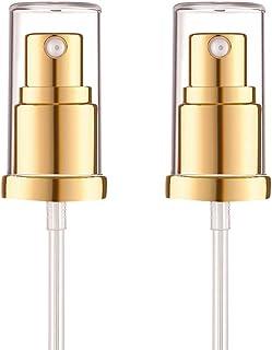 Bomba de base para base Estee Lauder Double Wear Foundation, 2 paquetes de repuesto para base de maquillaje (dorado)