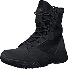 UA Storm technology repels water without sacrificing breathability Leather & 900D nylon textile combine for a soft & light upper Quick-dry minimalist design includes medial side drainage vents that help keep your feet dry Anti-odor technology applied...