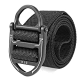 SFGSA Táctico Cinturón Cincha para Riggers Estilo Militar Web Cinturón con Hebilla Metal de Liberación Rápida,6,120cm