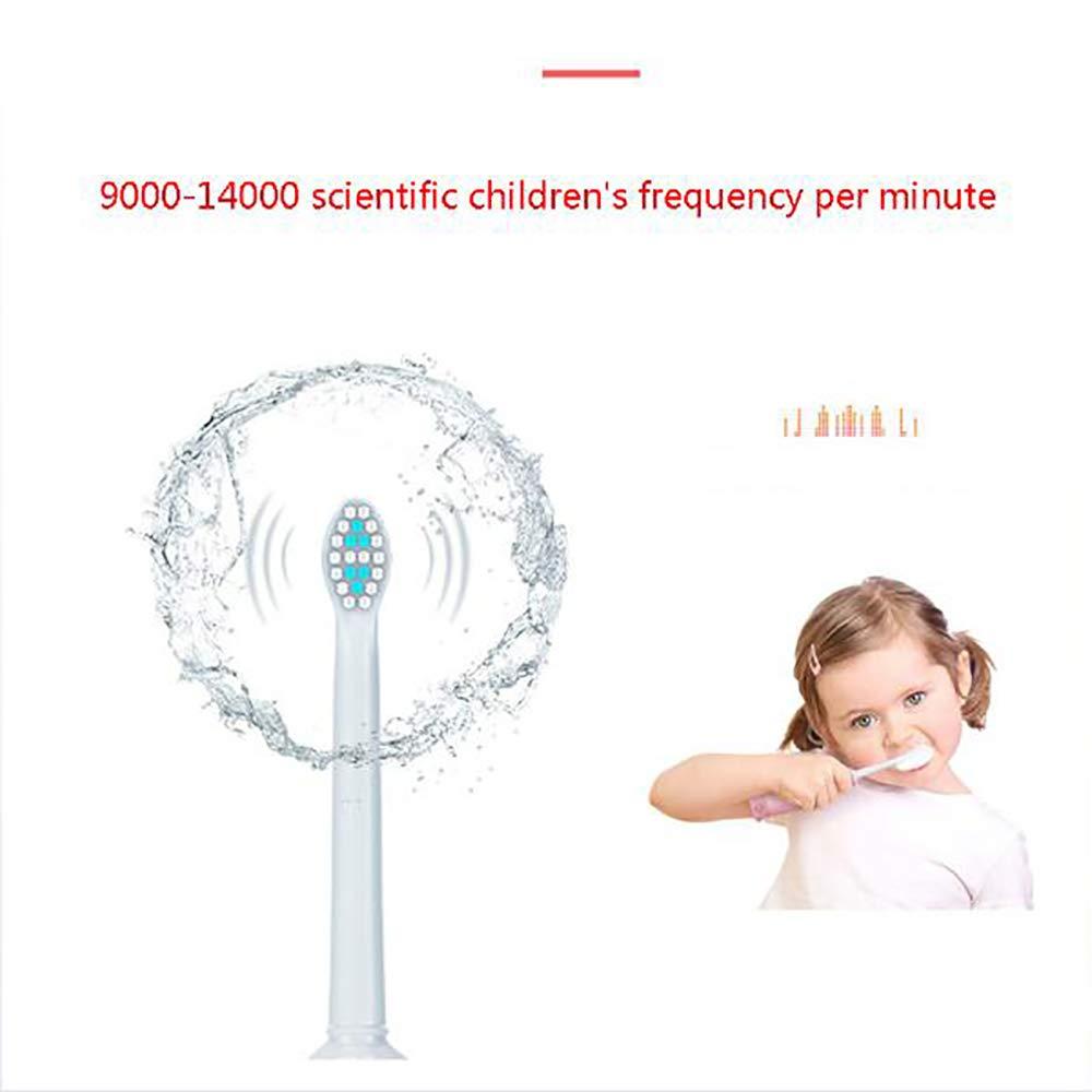 推進あらゆる種類の者子供の歯ブラシ、電動歯ブラシ、3?8歳の子供のための特別な乾電池スマートポータブル歯ブラシかわいいパターンを特色にする