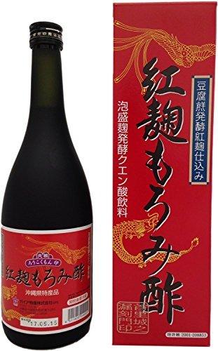 ガイア物産 紅麹もろみ酢 720ml×6本