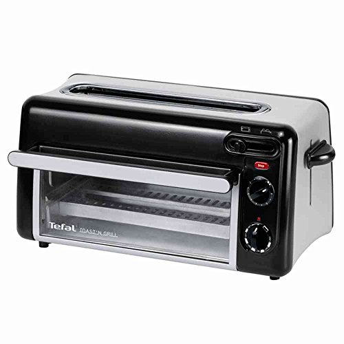 Tefal TL 6008 Toast n Grill 2 in 1 Toaster Grill and mini oven for toasting and grilling buns, corrsiants, sandwiches, even bake small pizzas