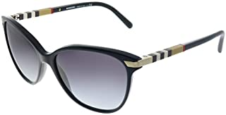 Burberry Women's 0BE4216 30018G 57 Sunglasses, Black/Gradient