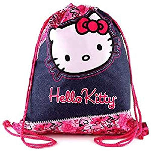 Hello Kitty Housse Chaussure Multicolore (Rose/Bleu Foncé)