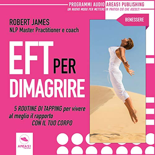 EFT per dimagrire audiobook cover art