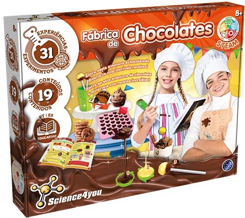 Science4you-Science4you, Fabrica De Chocolates, Juego para 8+ años, Serie 'Science', Multicolor (SY-80003132)