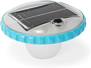 Intex Floating LED Pool Light, Solar Powered with Auto-On at