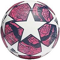 adidas Fin ist CLB Balón de Fútbol, Men's, White/Pantone/Dark Blue, 5