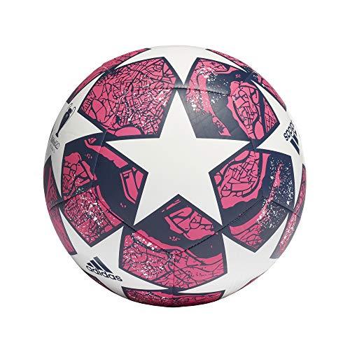 Adidas Fin Ist CLB, Palla da Calcio Unisex Adulto, White/Panton/DKBLUE, 5