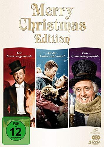 Merry Christmas Edition: Die Feuerzangenbowle / Ist das Leben nicht schön? / Eine Weihnachtsgeschichte [3 DVDs]
