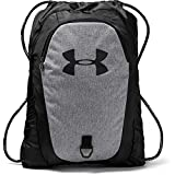Under Armour Undeniable 2.0 Sackpack, Black/Grey, One Size Fits All