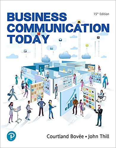 Compare Textbook Prices for MyLab Business Communication with Pearson eText -- Access Card -- for Business Communication Today 15 Edition ISBN 9780135891674 by Bovee, Courtland L.,Thill, John V.