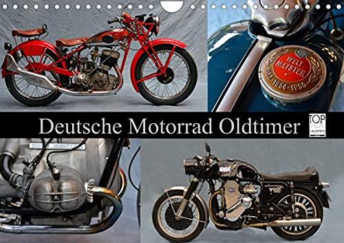 Deutsche Motorrad Oldtimer (Wandkalender 2022 DIN A4 quer)