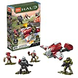 Mega Construx Halo Hijacked Ghost Vehicle Halo Infinite Construction Set, Building Toys for Kids