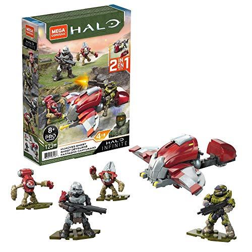 Mega Construx Halo Hijacked Ghost Vehicle Halo Infinite Construction Set