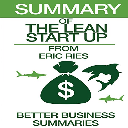 Summary of The Lean Startup from Eric Ries audiobook cover art