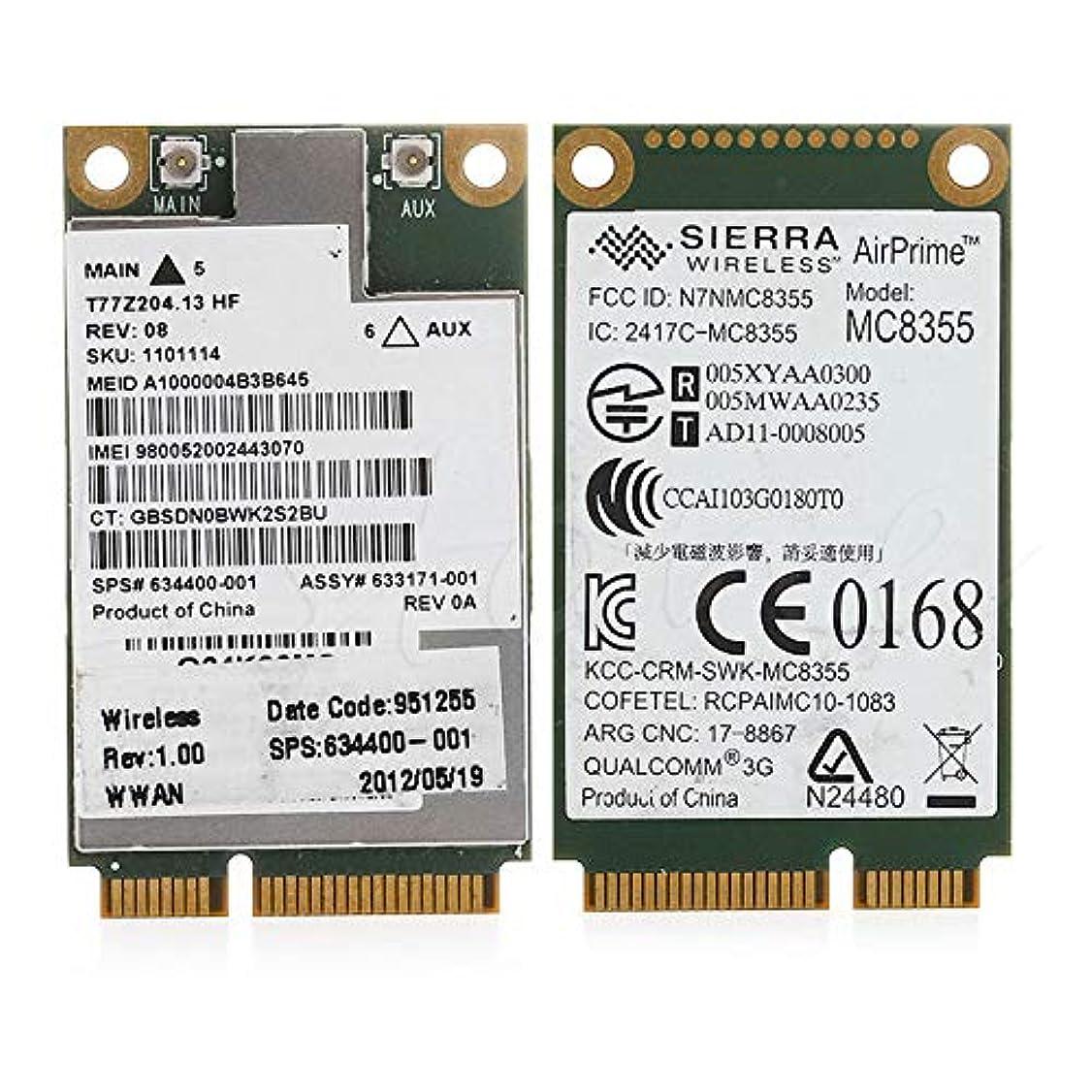 略すさまよう咲くFidgetGear ワイヤレスカード HP 2560P 2760P 8460W 8760W 8560W 3G GOBI3000UN2430 634400-001