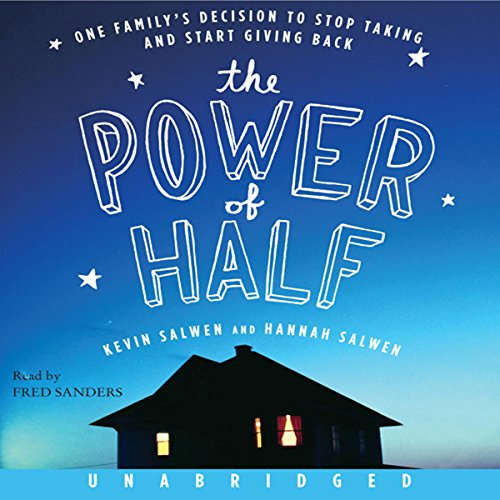 The Power of Half  audiobook cover art