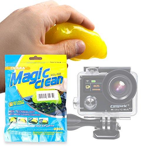 DURAGADGET Gel di Pulizia per Action Camera iLifeSmart | gaddrt 1080P | taottao | Pruveeo |Campark ACT76 4k