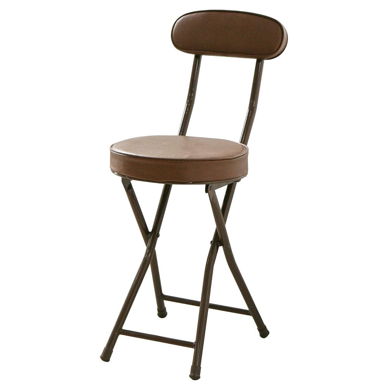 松の木属する引退したルームアンドホーム 椅子 チェア ハニー ブラウン 24.5×34.5×77.5cm