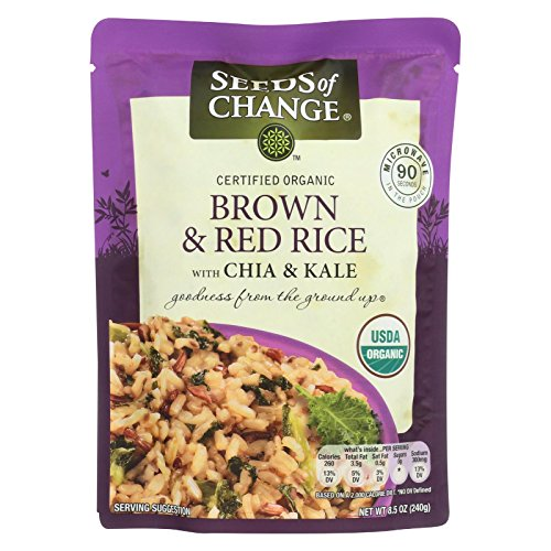 Seeds Of Change Rice Red With Chia Kale