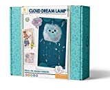 GoldieBlox Cloud Dream Lamp, for Kids 8+, Features Remote-Controlled Color Changing LED Lights, Educational DIY STEM Activity