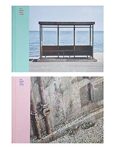 Big Hit Entertainment BTS Wings: You Never Walk Alone Bangtan Boys Album [ Left Ver+Right Ver Set ] 2 CDs+2 Photobooks+2 Photocards+(Extra BTS 6 Photocards+Pocket Mirror)