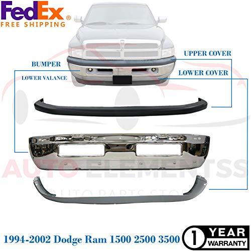 01 dodge ram 1500 front bumper - 8