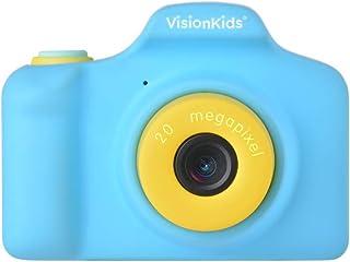 VisionKids HappiCAMU+ ハピカムプラス ブルー 高性能トイカメラ【日本正規代理店】2000万画素 ビデオ タイマー撮影 フレーム 子供用 プレゼント JP050