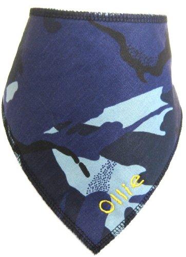 Spoilt Rotten Pets hond sjaal, camouflapatroon, blauw small/medium (voor honden maat 30,5 cm tot 40,6 cm hals)