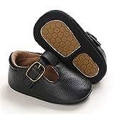 WanXingY Baby Girl Boy Zapatos Snakler Shoes Sneakers Newborn Child Cuna Baby Walker Botas Poco Profundas (Color : 13 18 Months, Size : Negro)