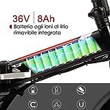 Zoom IMG-1 bikfun bicicletta elettrica pieghevole bici