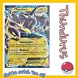 Carta Singola Pokemon Thundurus Ex Holo 38/116 Glaciazione Plasma Italiano