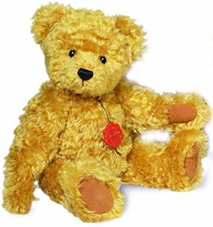 Teddy Hermann Classic Teddy Bear with Growler 36cm ADULT Collectable Toy