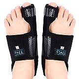 Adjustable Orthopedic Bunion Corrector, Lightweight Hallux Valgus Night Splint, Bunion Splint Big Toe Straightener for Bunion Condition Alleviation, 1 Pair