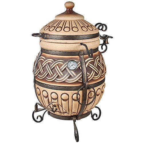 Grand Tandyr Tandoori Thor Tandoor Tandir Тандыр Tandur Grill Feinschmecker Ofen BBQ Barbecue Mangal
