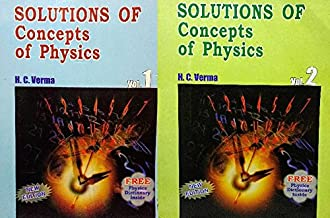 Solution of Concepts of Physics by H C Verma Part 1 & Part 2 lattest editions