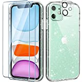 AROYI Clear Glitter Case Compatible with iPhone 11 Case