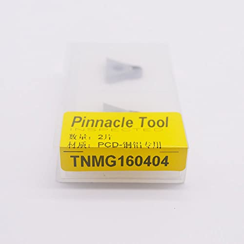 new arrival ZIMING-1 2PCS TNMG 331 new arrival PCD / TNMG 160404 PCD CNC Diamond insert For Lathe Tools Inserts Suitable for sale machining aluminum/Nonferrous metals outlet online sale