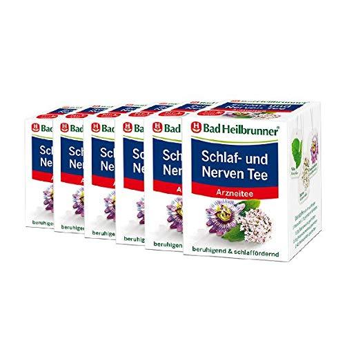 Bad Heilbrunner® Schlaf- und Nerven Tee - 6er Pack