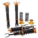 ECCPP Coilover Struts Spring Shocks Adjustable Height Coilovers Suspension Struts Coil Spring Shocks and Struts Fit for 2003 2004 2005 2006 2007 2008 2009 Nissan 350Z