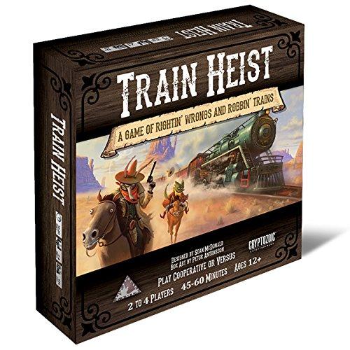 Unbekannt Cryptozoic Entertainment CRY02066 Brettspiel Train Heist