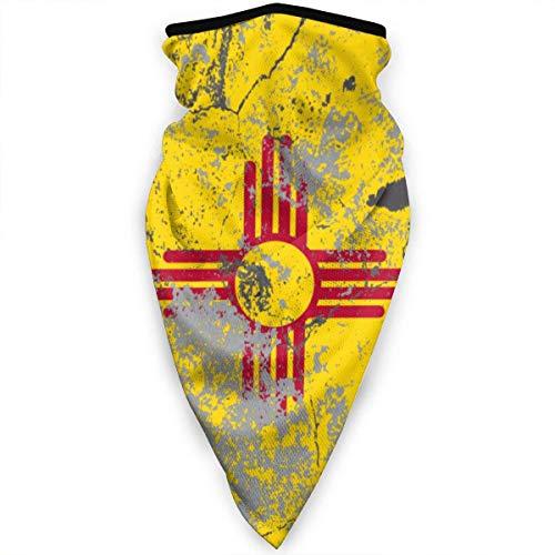 Mathillda New Mexico vlag Retro gezichtsmasker hals gamassen bandana sjaal bivakmuts multifunctionele hoofddeksel-20K-752