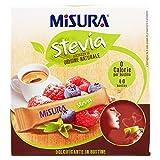 Misura - Stevia, Dolcificante di Origine Naturale, 40 bustine - 60 g