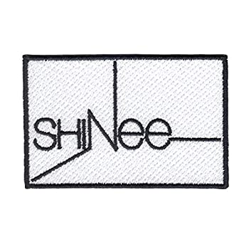 K-Pop Shinee Patch Korean Pop Music Group Logo Embroidered Iron On