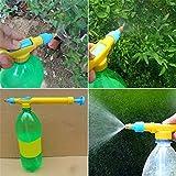 fghfhfgjdfj Mini Botellas de Jugo Interfaz Trolley Pistola Pulverizador Presión de Agua Plástico Agua Pesticida Pulverización 29 x 3 x 4 cm