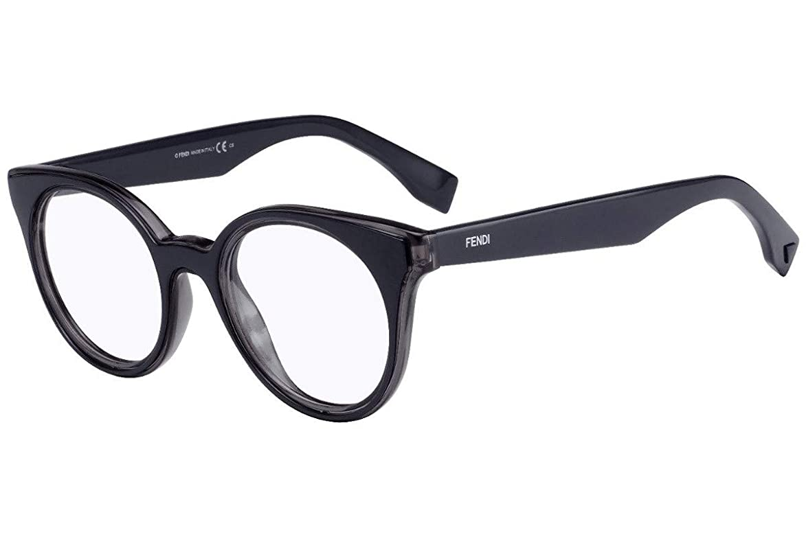 Fendi FF0198 Eyeglasses 47-21-145 Grey Blue w/Demo Clear Lens L1A FF 0198 zah656845030230