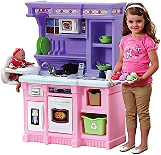 Step2 Little Bakers Kitchen Pretend Play and Dress-up Toy [Pink and Purple, 825100]