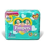 foto Pampers Baby-Dry Pañales para Bebés, Talla 2 (3-6 kg) - 31 pañales