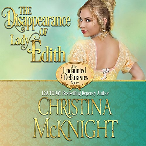 The Disappearance of Lady Edith audiobook cover art